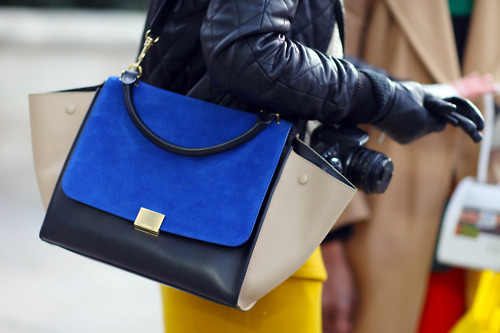 Splurge vs Steal: Celine Trapeze Bag |