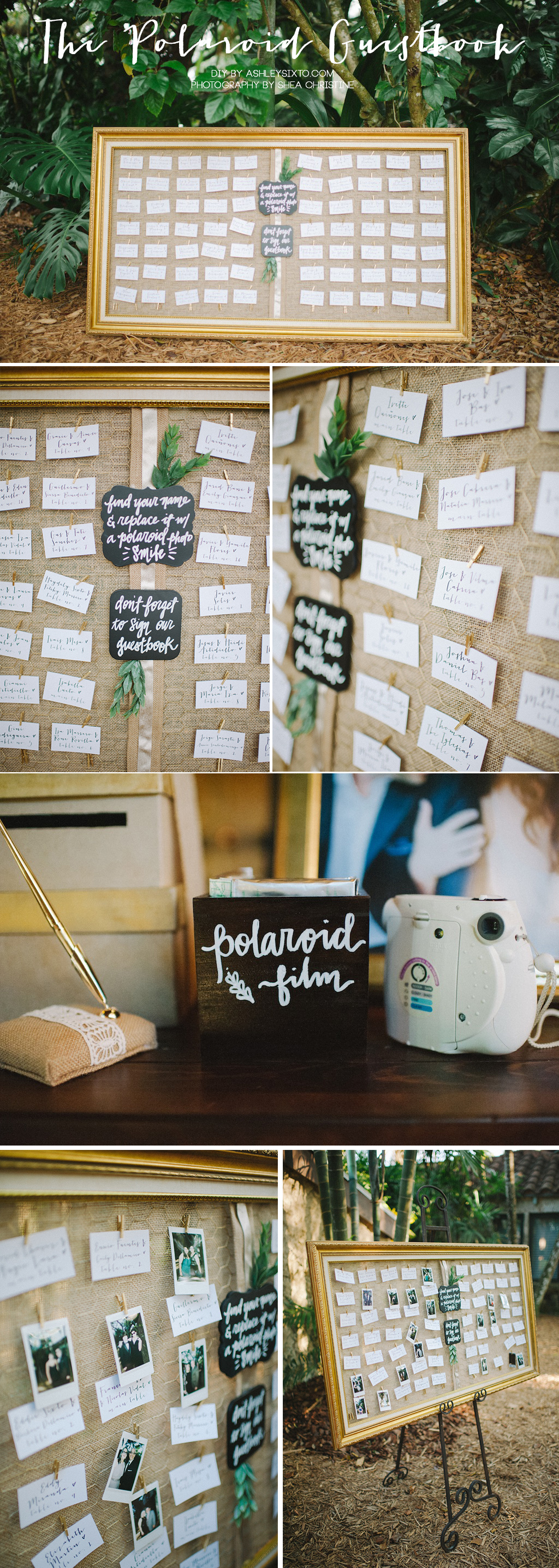 Details_The Polaroid Guestbook