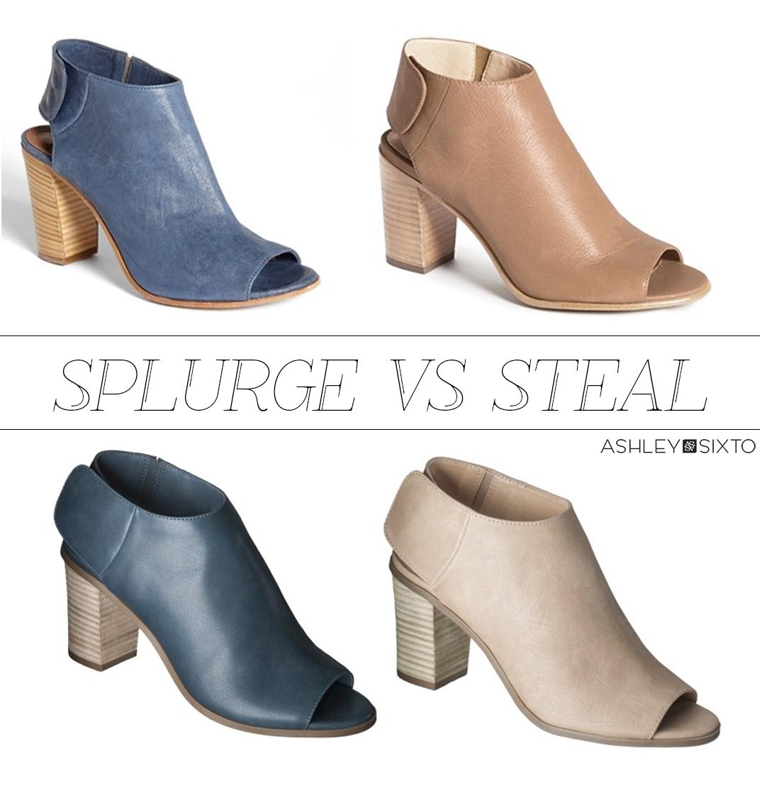 Splurge VS Steal_Target & Steve Madden